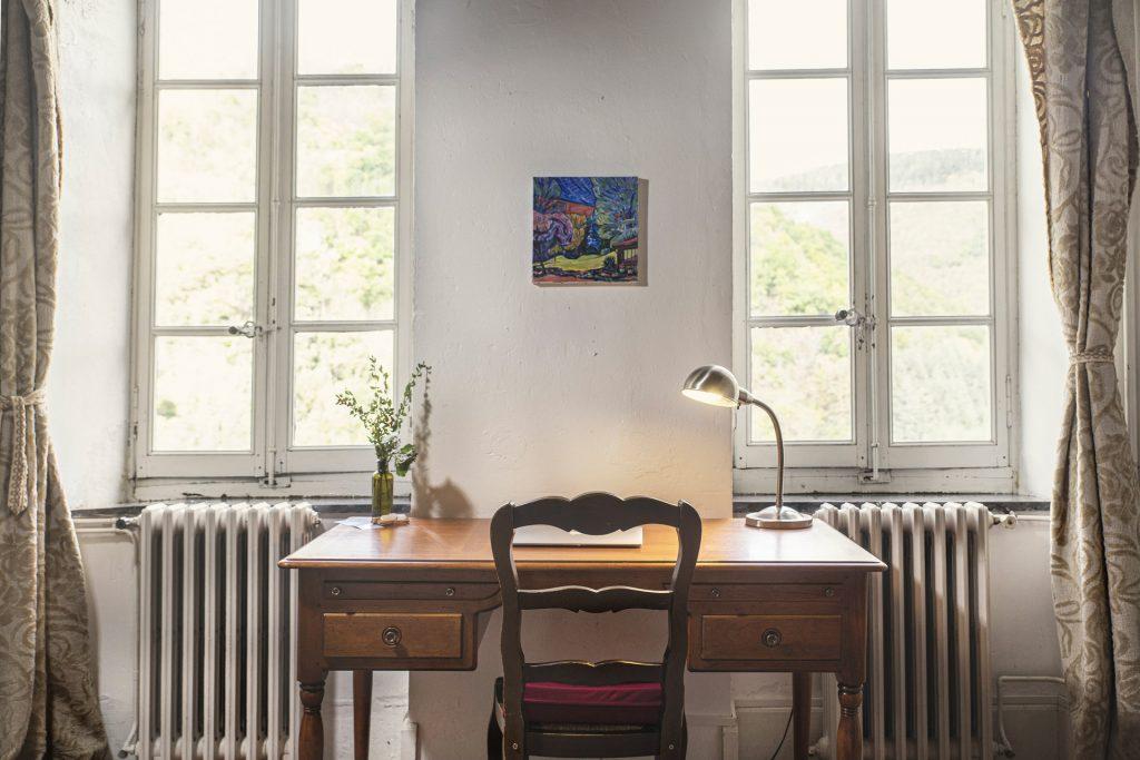 Chambre Calliope - La Muse - Retraite d'artistes et d'écrivains